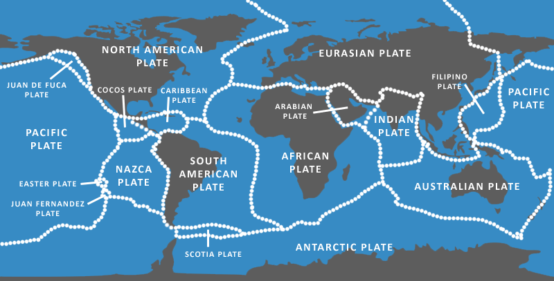 Tectonics plates sea floor spreading and deep ocean trenches the picture sciox Images